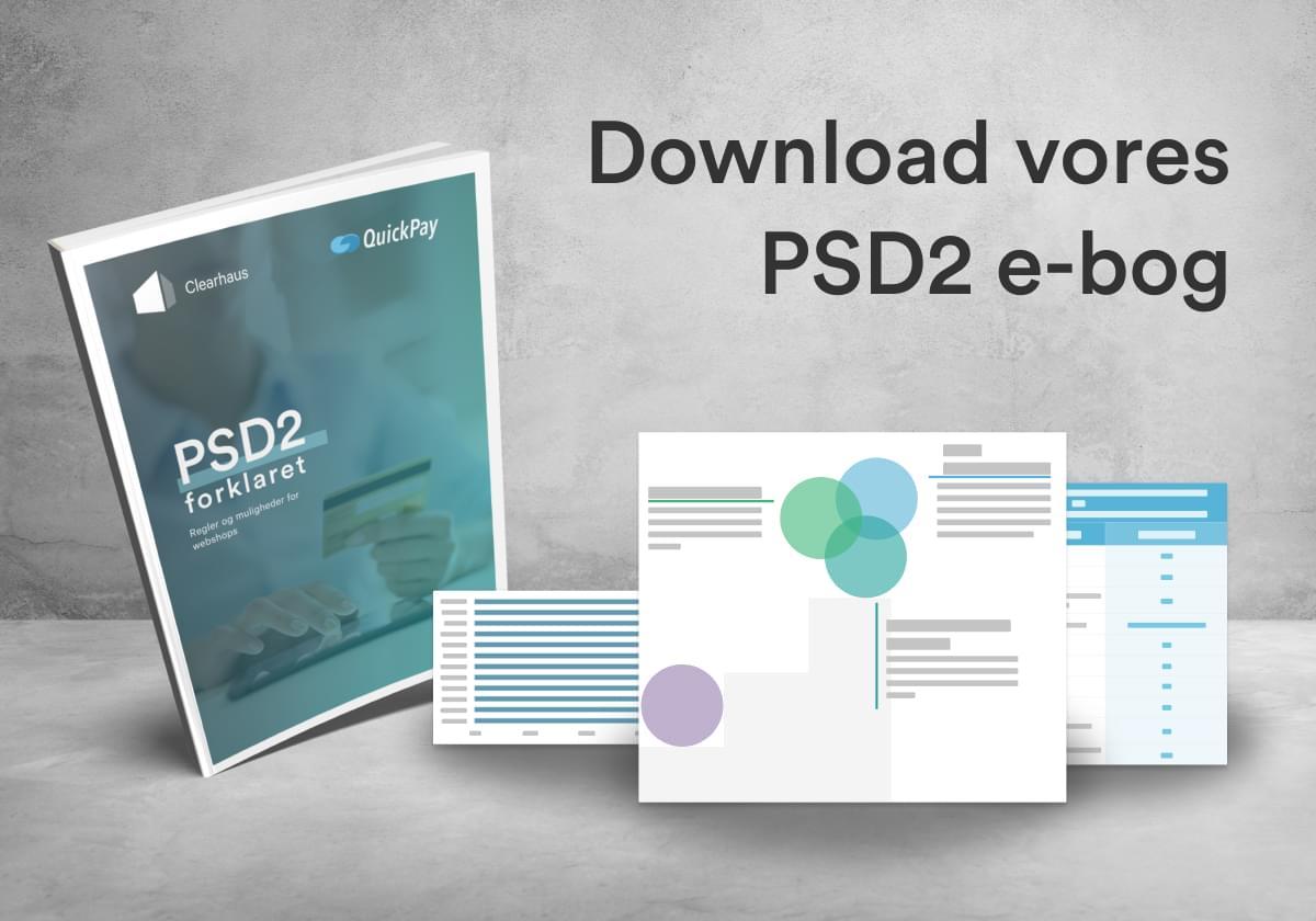 Vores e-bog om PSD2 og et udsnit af, hvad den indeholder