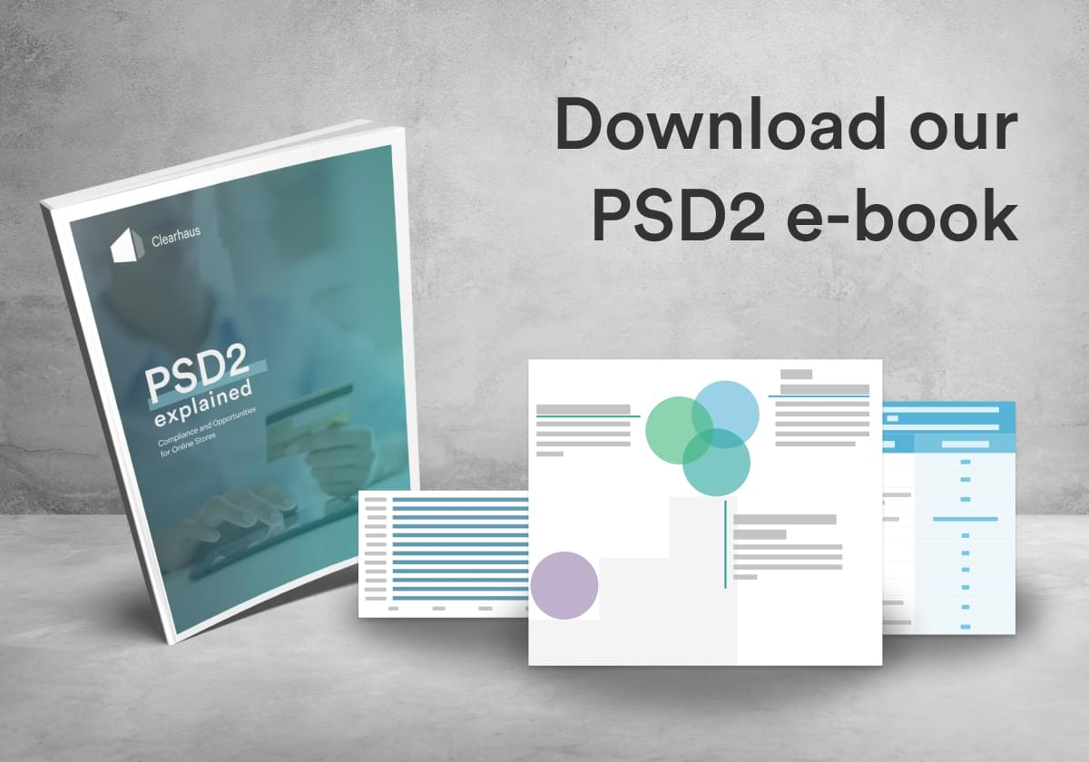 Clearhaus' e-book on the EU payment directive PSD2