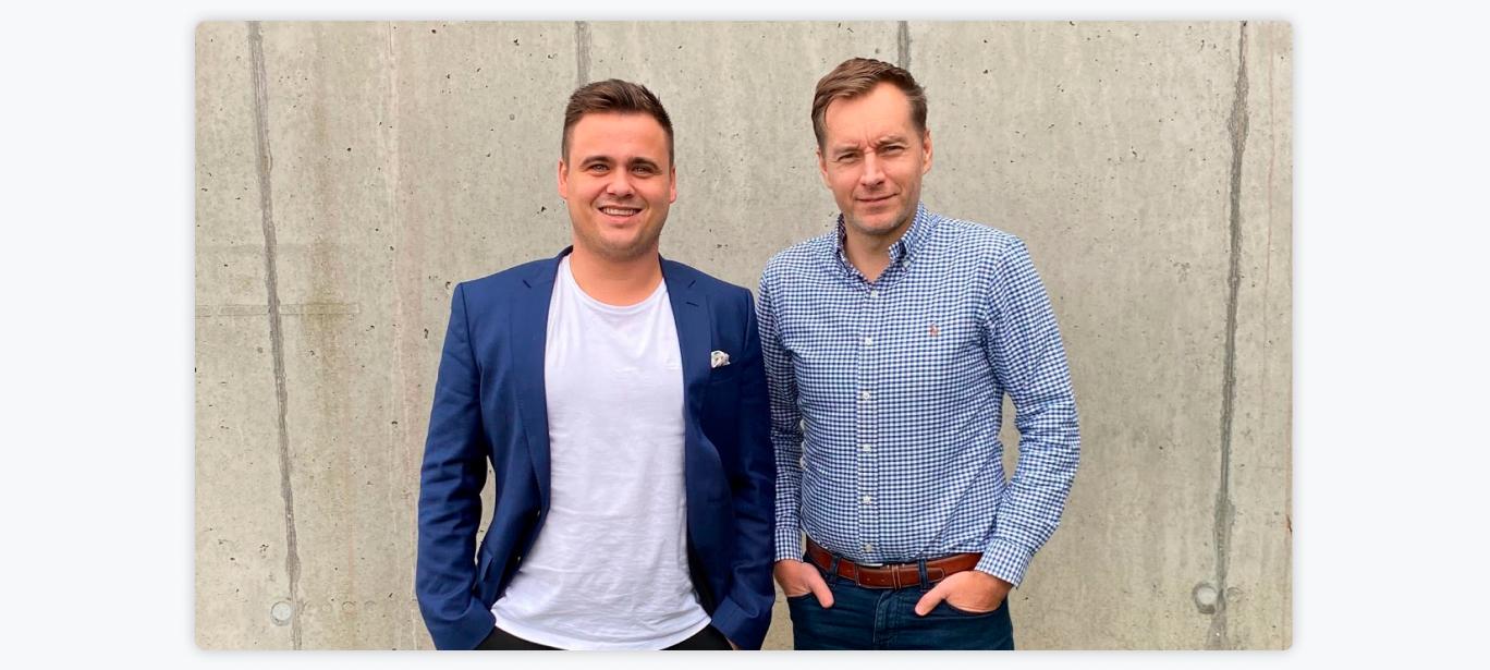 Jonas Overgaard, CEO, ANYDAY & Claus Christensen, CEO, Clearhaus